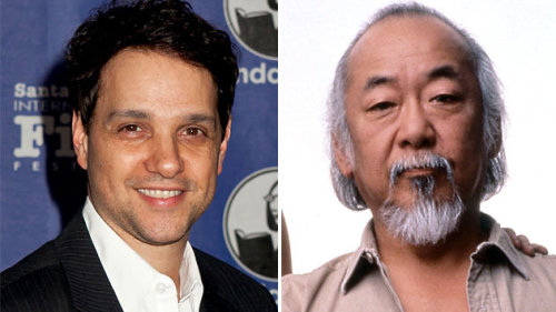 coketalk:  Ralph Macchio is now the same age that Pat Morita was in the first Karate Kid.  Nohmygod.