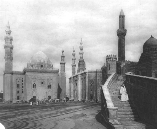 Mosque-Madrassa of Sultan Hassan, 1920s photo by Lehnert & Landrock