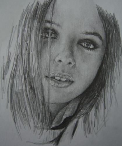 Imagenes de rostros de mujeres dibujadas - Imagui