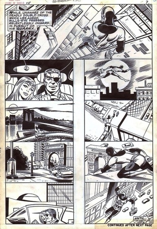 themarvelageofcomics:  A page from NICK FURY, AGENT OF S.H.I.E.L.D. #15 by Herb Trimpe & Sam Grainger