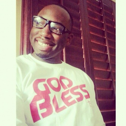 Hope you've had a blessed Sunday. @djayfreshmaker says he did with his shirt. Www.TYandGB.com #thankyougodbless #streetwear #positiveclothing #positiveshirts #christianclothing