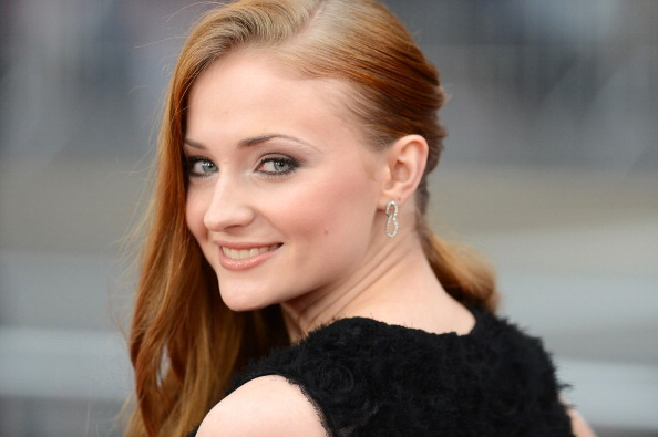 stark-queen:  Sophie Turner at Game of Thrones Season 3 Red Carpet Premiere