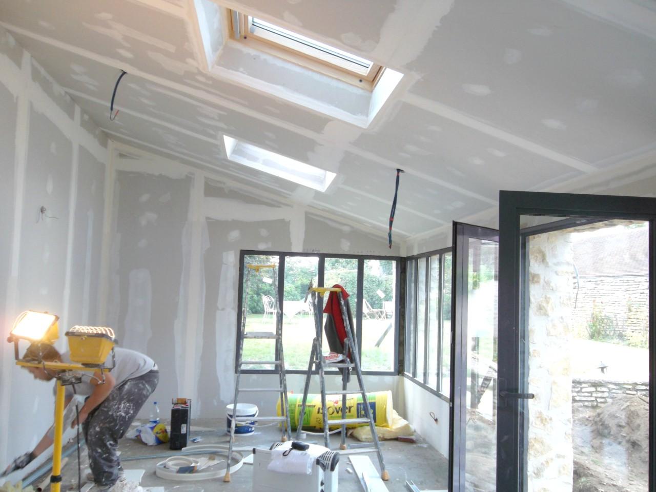 Pr ts pour la r novation de votre maison sur senlis oise for Extension maison 3 murs