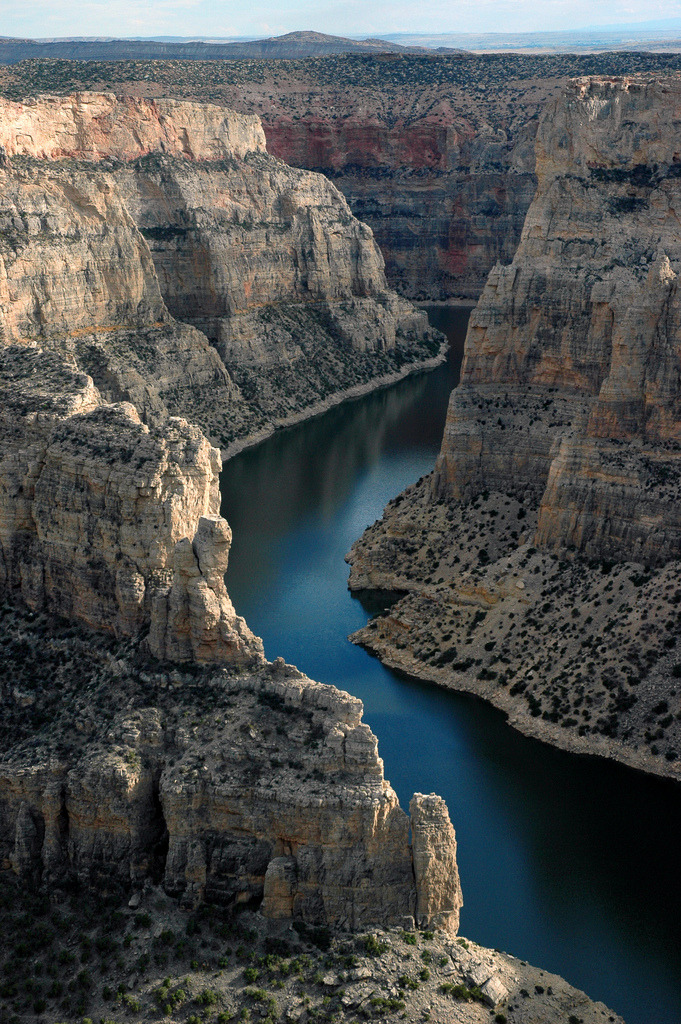 travelingcolors:  Big Horn Canyon | Wyoming (by Manny Moss)
