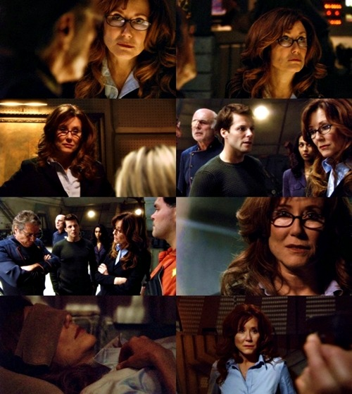 imafrakincylon:  Laura Roslin | Battlestar Galactica | He That Believeth In Me