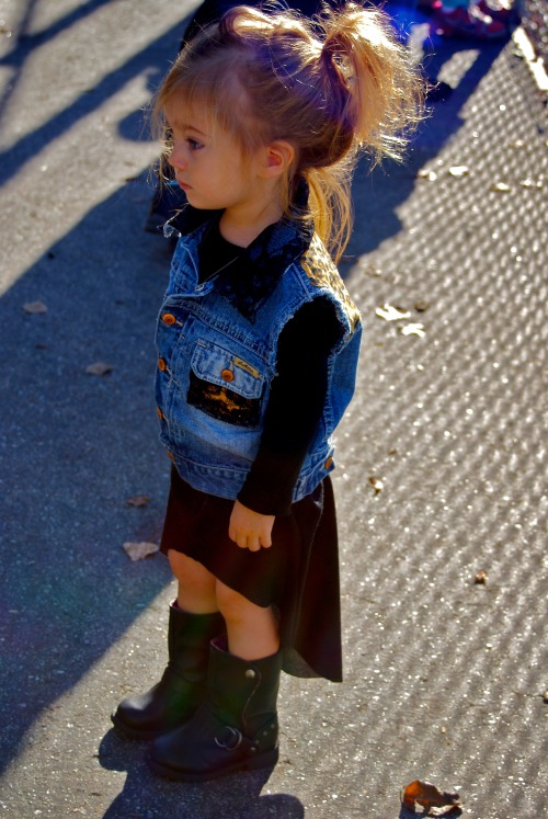 ministreetstyle:  Lala  Well she's killing it isn't she. Ha.