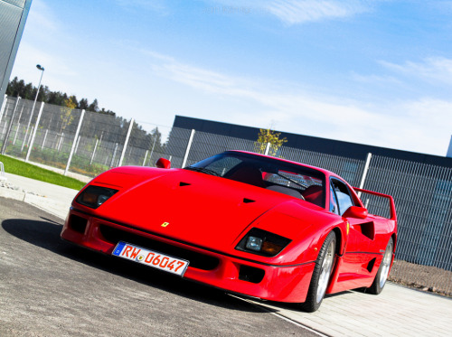 Ferrari F40 Image by Jan König