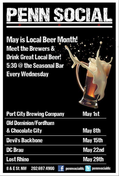 Local Beer, All Month Long!