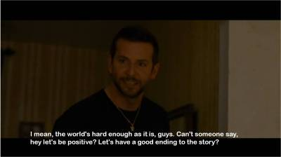 freakincrazy:  Silver Linings Playbook.