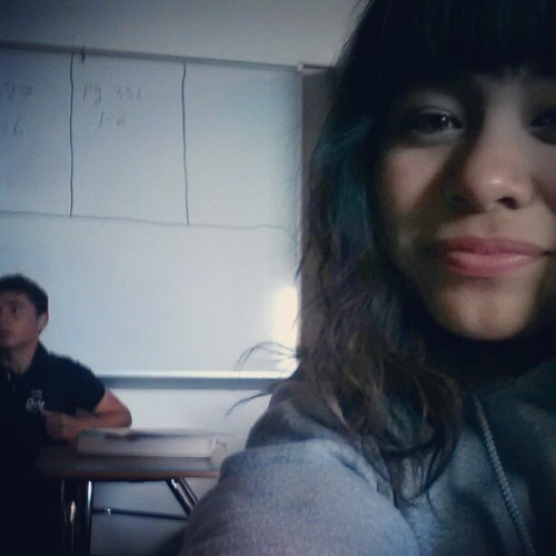 My homie Cristian and I lol hes all acting like hes paying attention in class. @godfather326