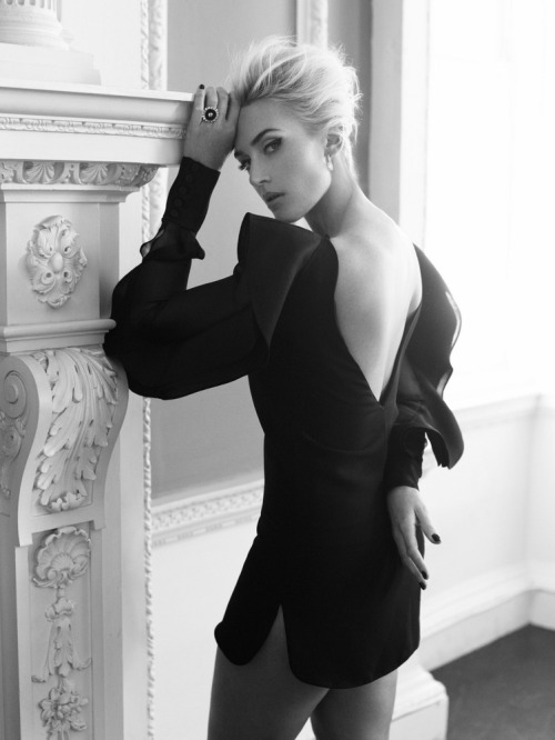 Kate Winslet in Harper's Bazaar UK April 2013