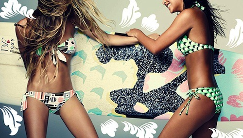"DVF and Roxy Debut Swimwear Collab, Pippa Middleton the Writer, and More Can it be summer tomorrow please? The bright patterns and prints from the new DVF for Roxy swimwear collection have us yearning for sunshine. [SheFinds] Pippa Middleton can add journalist to her resume: she'll be penning a regular column on food and entertaining called ""Friday Night Feasts"" for British supermarket magazine Waitrose Kitchen. [Refinery29] H&M debuts its first fashion show in eight years at Paris Fashion Week. [FabSugar] This is by far the best Lena Dunham impression we've ever seen. [The Atlantic Wire] The Body Shop teams up with british singer Leona Lewis on a limited edition spring fragrance and makeup collection. [WWD] Meet the newest at-home hair removal system, Me Smooth—the first device that can treat all skin tones. [Allure] -Charisse Read how Birchbox staffer Geraldine, went on a mission to find her perfect shade of red lipstick, here (Photo: Roxy.com)"