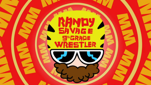 "TV Show: MAD Episode: James Bond: Reply All/Randy Savage: 9th Grade Wrestler (Season 3, Episode 25) Air Date: 2/25/2013 Parodied Wrestler(s) captured: ""Macho Man"" Randy Savage, Vince McMahon, Hulk Hogan (Note: no real wrestlers/announcers were used for voiceovers) IMDB Page: MAD - James Bond: Reply All/Randy Savage: 9th Grade Wrestler"