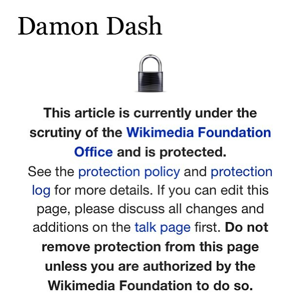Want to learn about Damon Dash… Not today you won't