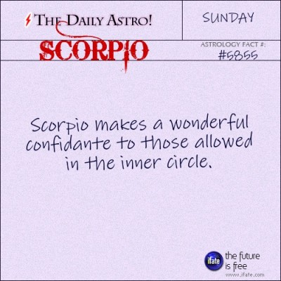 Scorpio 5855: Visit The Daily Astro for more facts about Scorpio.and u can get a free tarot reading here. :)