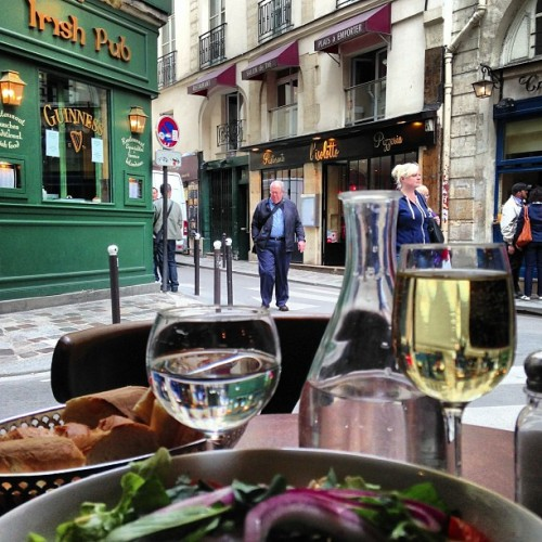 A late lunch in #Paris's Latin Quarter.