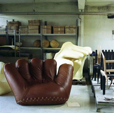 De Pas, D'Urbino and Lomazzi, 'Joe' Chair, 1970