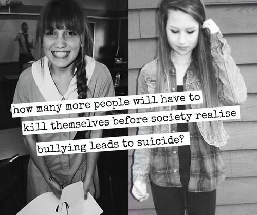 amanda todd, bullying, depression, girl - inspiring picture on Favim.com on @weheartit.com - http://whrt.it/ZlvzTe