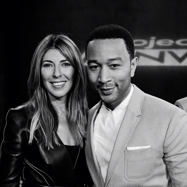 Here I am with the handsome John Legend! LOVED having him on Project Runway!