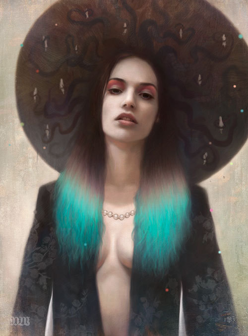 Tom Bagshaw art paintings digital painting Surface