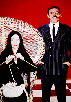 vintagegal:  The Addams Family TV show , 1960s