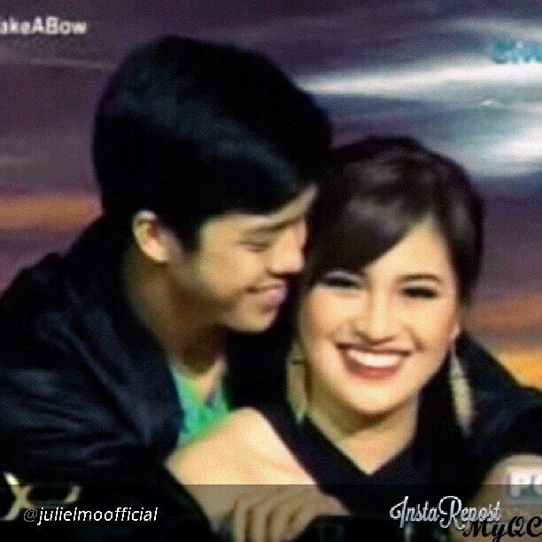 jeedeejee:  ang saya nila… may something na talaga eh.. #repost #JuliElmo #redmaskmedley #PPTakeABow #salamatpp #ElmoMagalona #JulieAnneSanJose #JuliElmoProd #productionnumber #prod #ilike #followme #likesforfollow #photogrid #photocollage #photooftheday #potd #picture #instapic #instavain #instalove #instashare #ig #igers #igManila #collage #asian