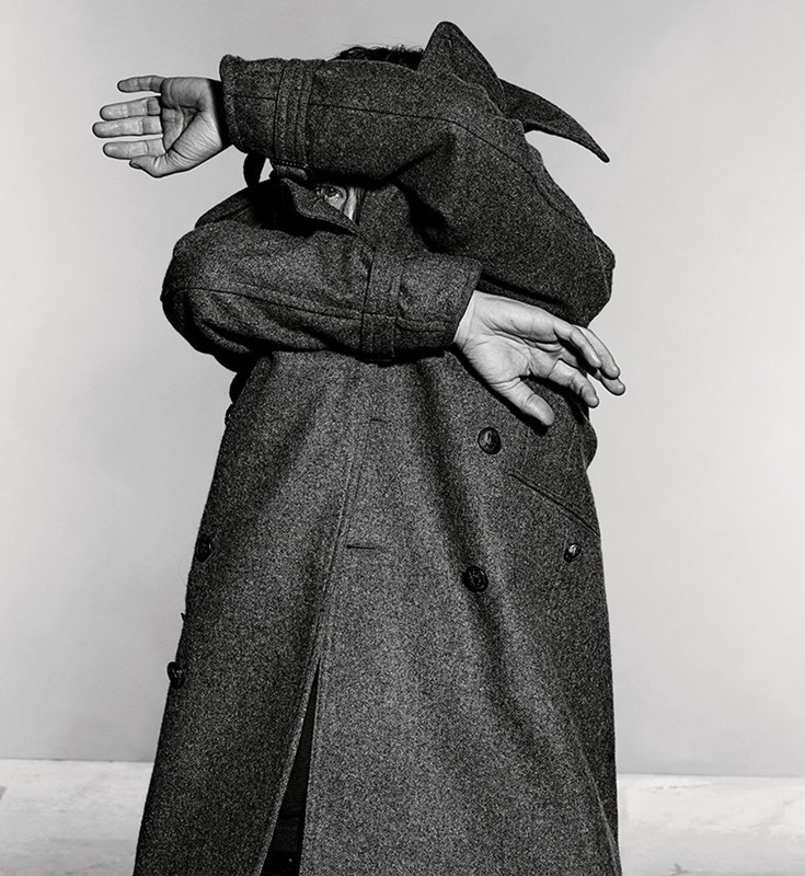 Thom Yorke photographed by Richard Burbridge for the February 2013 issue of Dazed & Confused