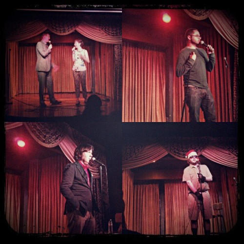This past Monday was a ton of fun @HotTub_Show w/@mrdavehill @joemande @mrjamesbachman & @alex_edelman! See you on the 15th!