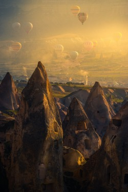 crescentmoon06:  500px / Photo Morning Cappadocia by Coolbiere. A.