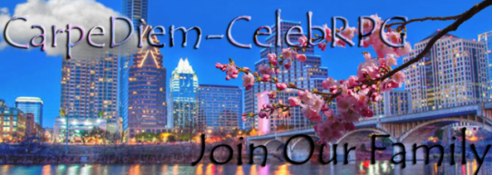 ✦ — CARPE DIEM - CELEBRITY RPG;  We are an AU, plotless, celebrity group roleplay, specializing in quality over quantity. Applications are accepted as they come in. Click the source link to check us out! #Keegan Allen#janel parrish #holly marie combs #chad lowe#rob lowe
