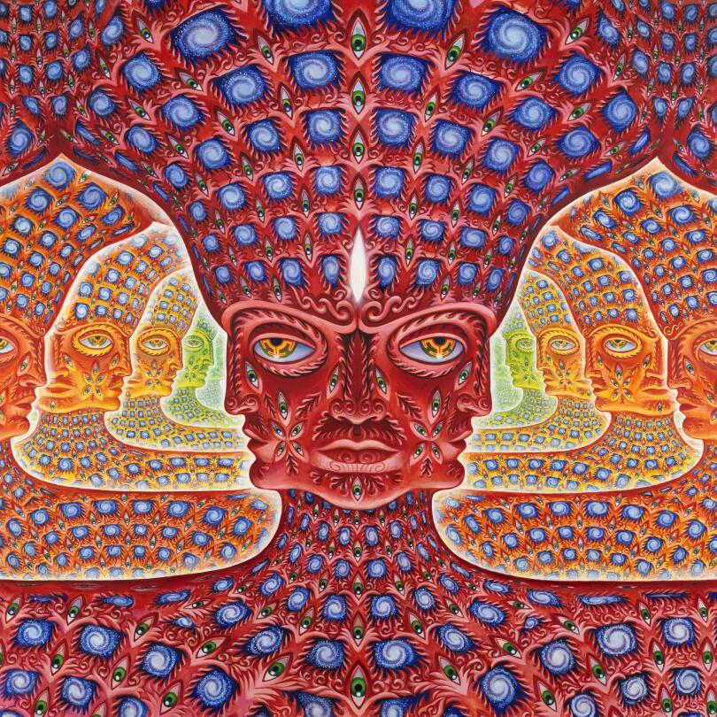 tiredmomentsintopleasure:  Godself by Alex Grey