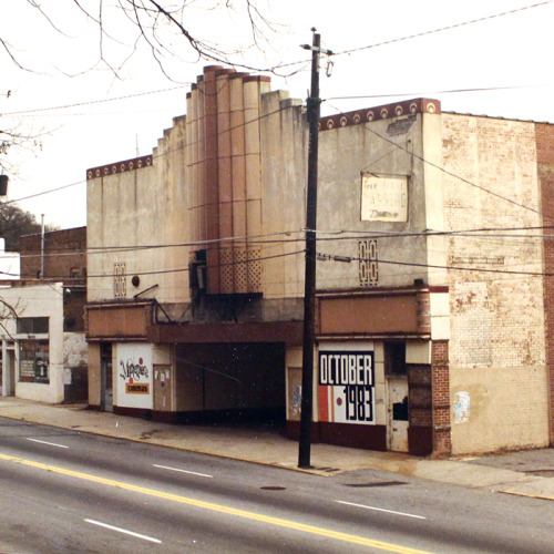atlantahistorycenter:  Anyone recognize the historic Atlanta theatre in this 1980s pic? We'll be heading there this Thursday (3/21/13) for Party With the Past! http://bit.ly/P4haXc  whoa.