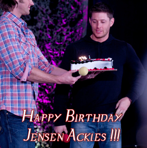 Happy Birthday Jensen Ackles, March 1, 1978 #HappyBirthdayJensenAckles