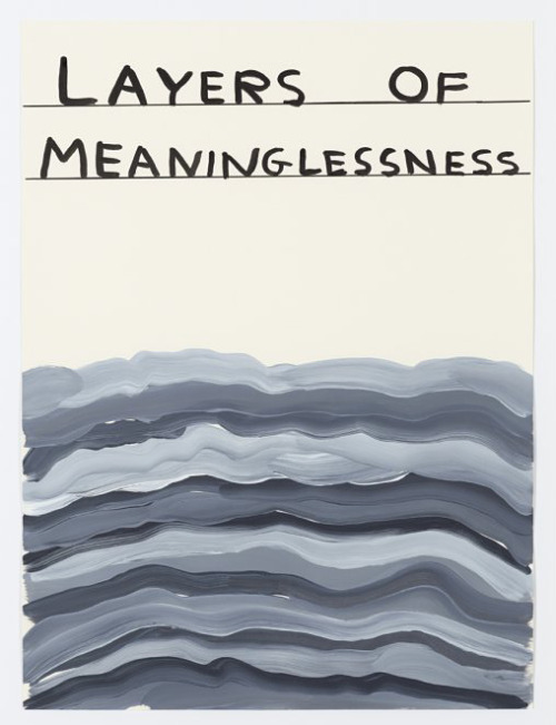 nevver:  Layers of Meaninglessness