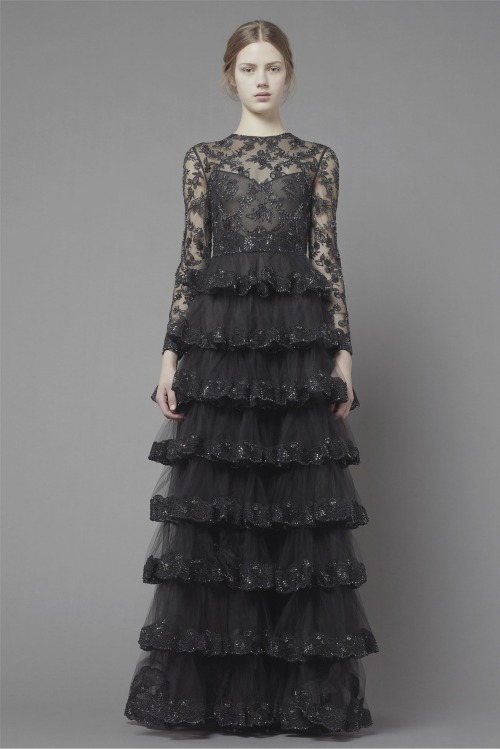 game-of-style:  Mourning gown for Margaery Tyrell - Valentino Pre-fall 2013