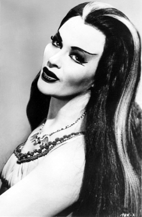 redheads-do-it-better-xo:  Yvonne De Carlo as Lily Munster.