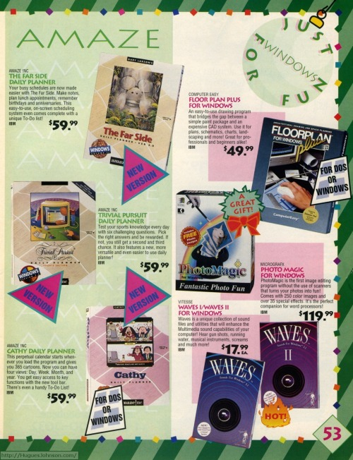 The early 90s. When people spent $59.99 on personal planner software.