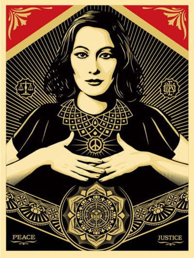 Peace and Justice Woman | © Obey
