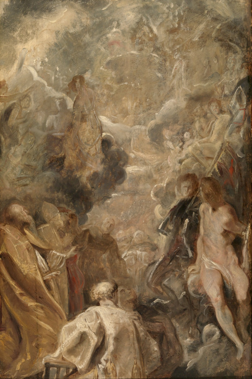 Peter Paul Rubens - Allerheiligen (All Saints); Museum Boijmans van Beuningen, Rotterdam, the Netherlands; c.1614