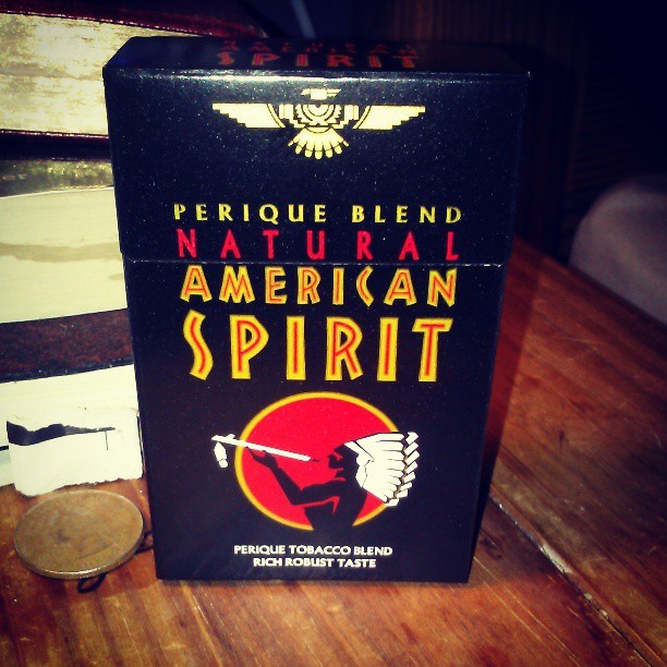 sluts0f47:  Can't wait to try these babies out! #Americanspirit #smokes #rich #robust #cheif