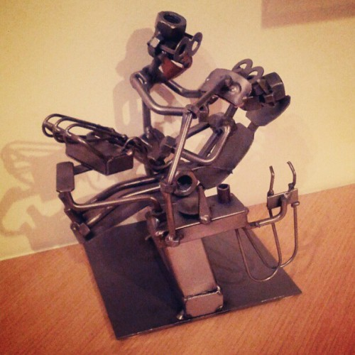 Dentista meccanico - Mechanical dentist #saturday #art