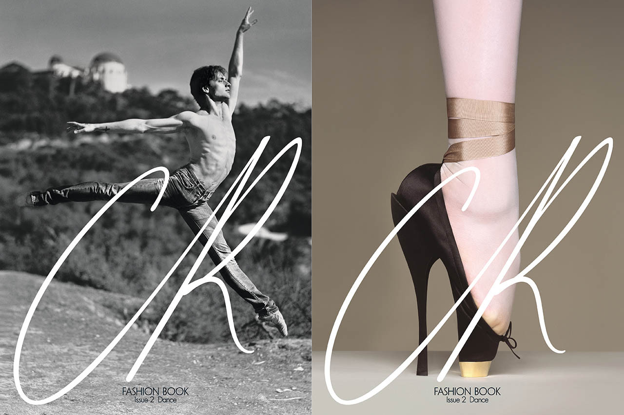 ISSUE 2 CR Fashion Book on dance [[MORE]] This season, the issue explores another of Carine's personal obsessions: dance. Here, your first look at the flip covers of Ukrainian ballet star Sergei Polunin, photographed by Gus Van Sant, and a photo of a pointe shoe by Brigitte Niedermair. CR Fashion Book Issue 2 hits select newsstands on February 21 in Europe and February 28 in the U.S.