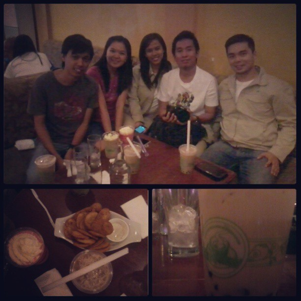 beanery with balikbayan :p thanks @kuyaced! @kristel @maot @denver