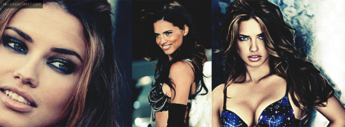 Adriana Lima Collage Facebook Cover