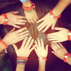 @princeton_university's chapter of #circleofwomen used the #hope #neon Orange Peace Cord as a fundraiser! #princeton #womensgroups