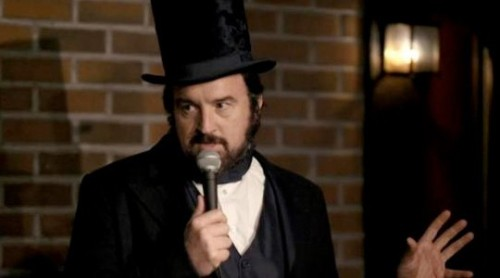 """Lincoln"" (Saturday Night Live) It doesn't come as much surprise that the best moment of SNL this year was shot-for-shot remake of Louis CK's FX series… only instead of Louie, we got to see inside the twisted world of one Abraham Lincoln. An honorable mention also goes to the Homeland spoof, where we learned Anne Hathaway knows how to work that chin of hers, too. Read more: Year in Review 2012: Funniest Comedy TV Moments"