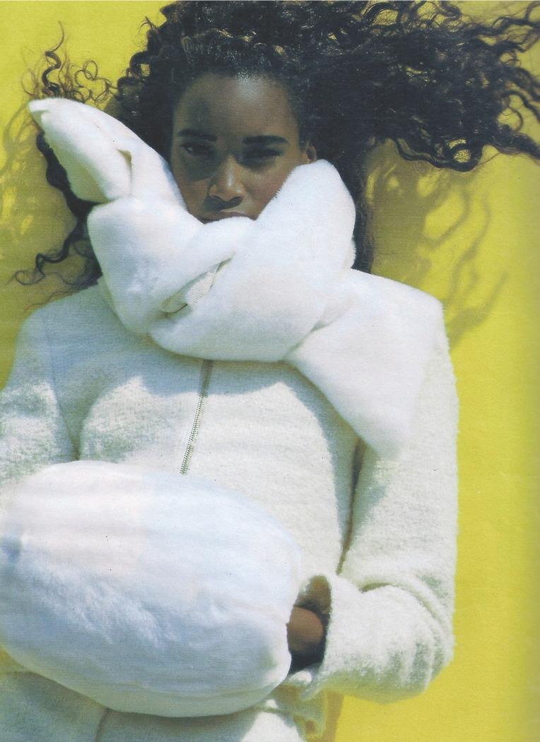 Beverly Peele inUne Mode Qui A Du Chien photographed byFriedemann Hauss forELLE France, October 1991