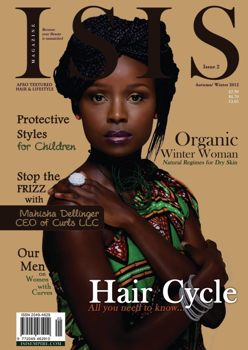 "Our article on Afro ""cosmetism"" is now avaialble in Isis magazine"