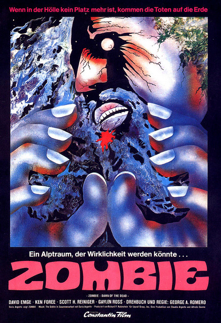 Dawn Of The Dead (1978, German poster)
