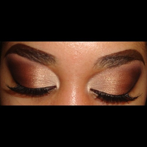 #EOTD My go to smokey brown eyeshadow. I'll use #MAC's Femmi Fi in my inner corner then I will blend a bronze, brown and dark brown or black toward my outer corner. #makeupandkiss #makeup_loooks33 #mmuxwhitney#mac #motd #mufe #makeup #mascara #makeupart #maybelline #maccosmetics #makeuplover #makeupwhore #makeuphoneys #makeupforever #bhcosmetics #brighteyeshadow #beauty #browneyes #makeupftw #fotd #eyeart #eyebrows #eyelashes #eyeliner #elfcosmetics #elfmakeup #maybelline #ilovemacgirls #ilovemakeup #smokeyeyes #ardell #ardellwispies #blackeyeliner